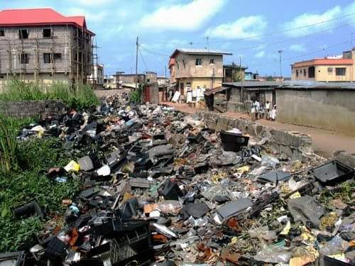 Dirty environments are threats to the lives of Nigerians