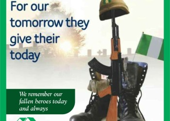 Armed forces remembrance day.