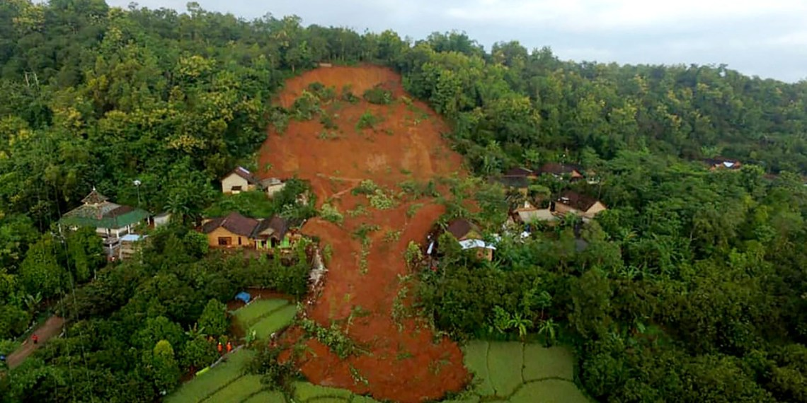 Indonesian landslide kills four with 14 missing