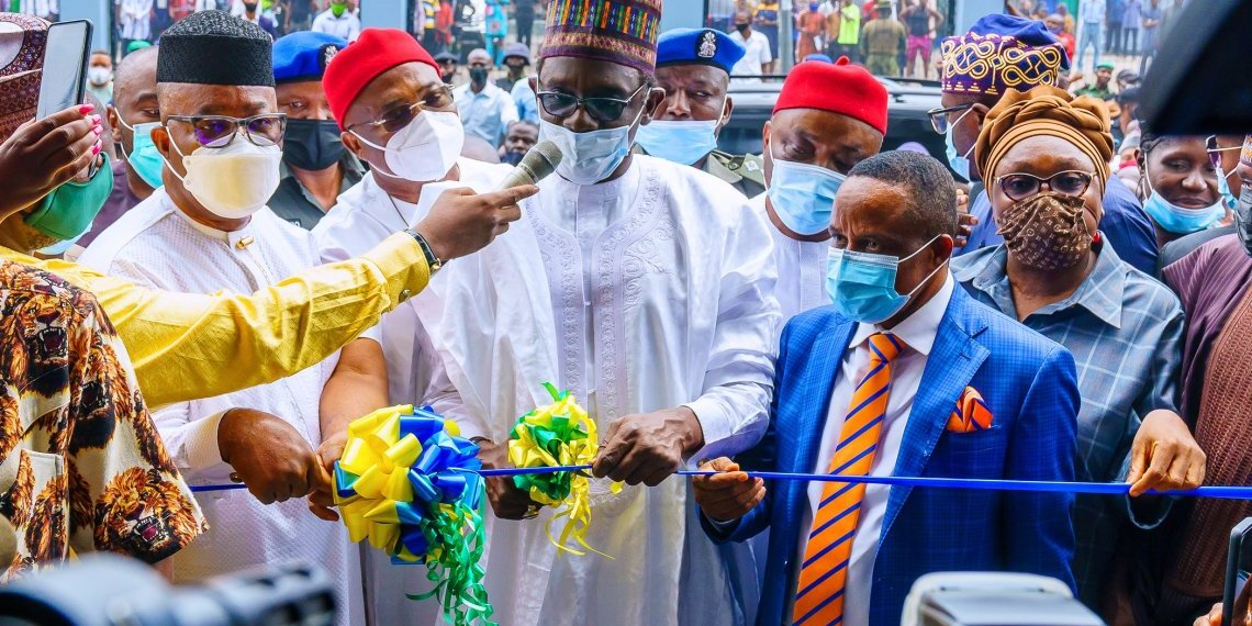 Buhari commissions NDDC building 25 years after commencement