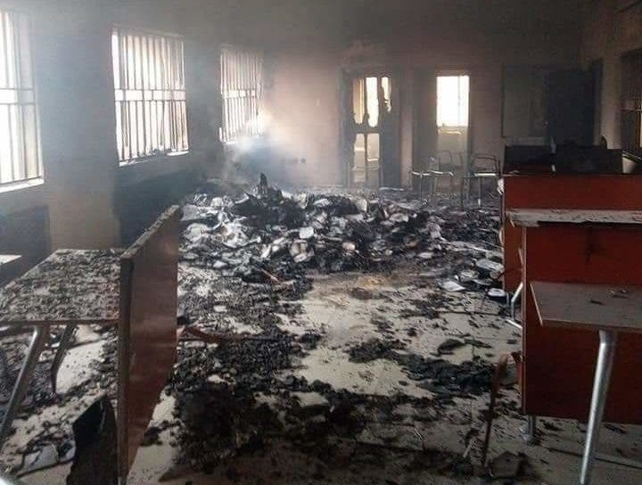 Hoodlums set Federal High Court Abakaliki ablaze – Police