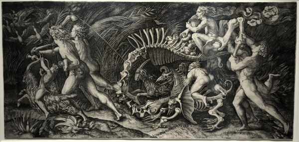 Agostino Veneziano, The Witches' Rout, c. 1520.