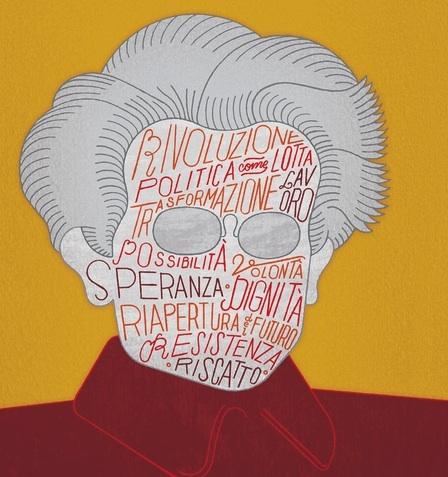 Cover art from Diego Fusaro, Antonio Gramsci (Milano: Feltrinelli, 2015).