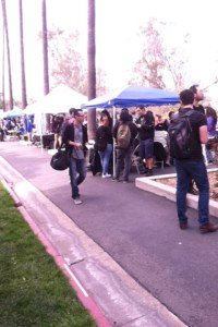 """Students gather at RCC's 2014 """"Club Rush"""" event"""
