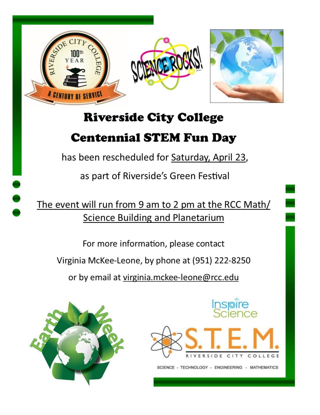 Centennial STEM Fun Day