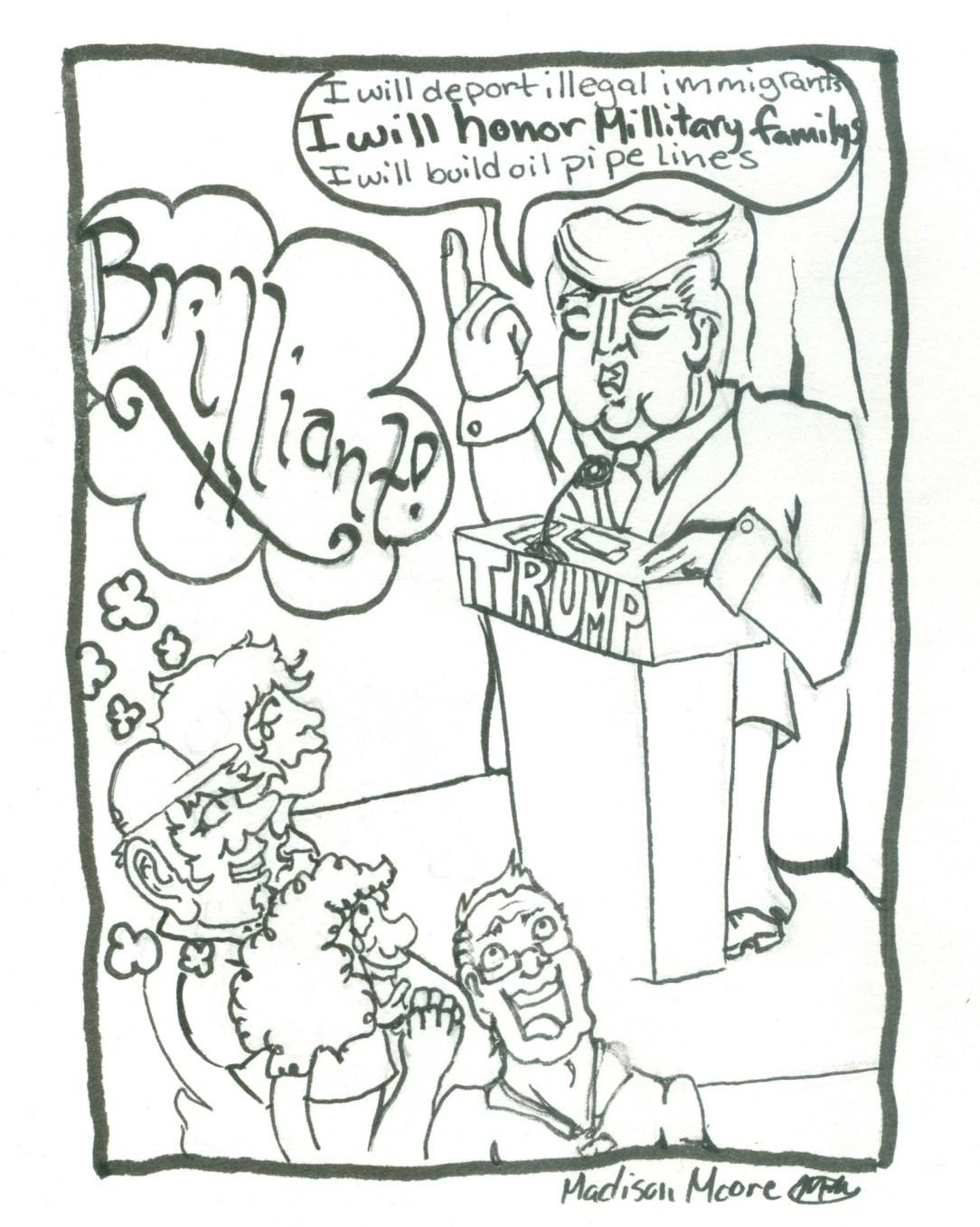 Trump Illustration Maddison 1