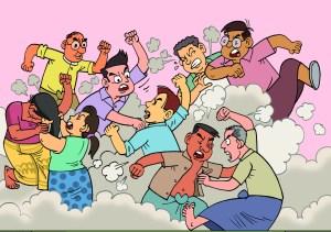 Editorial: Divisiveness in politics creates tension in the home