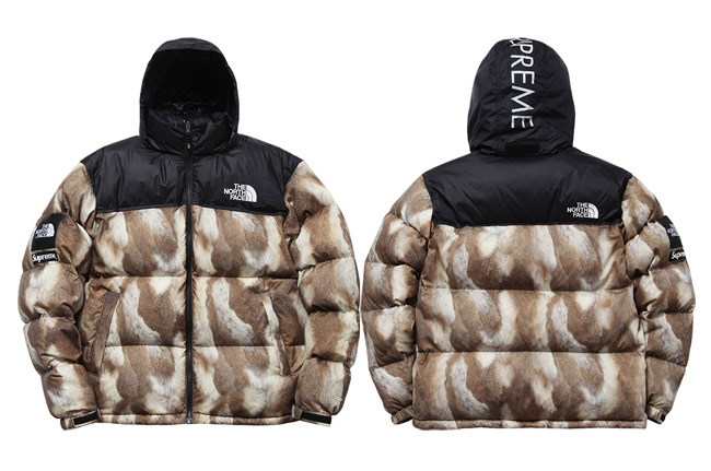 Supreme/The North Face Faux Fur Nupste Jacket