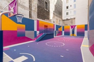 Pigalle terrain basket-ball