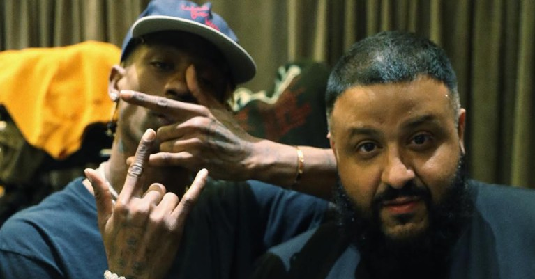 Travis Scott DJ Khaled