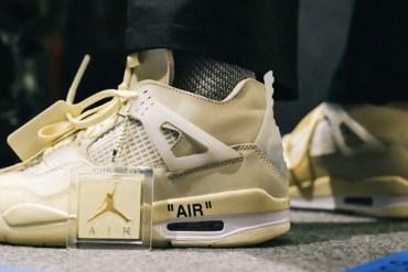 Off-White x Air Jordan 4 virgil abloh