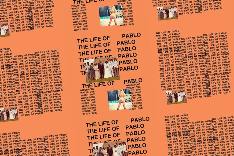 kanye west the life of pablo album