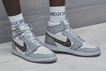 air jordan 1 dior sneakers