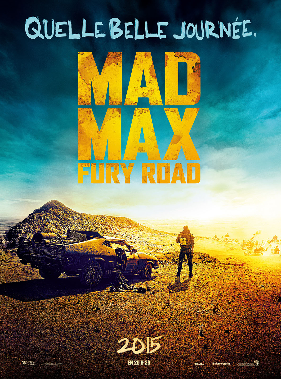 mad max fury road poster affiche