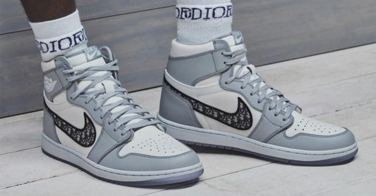 air jordan 1 dior sneakers collaboration collection date de sortie