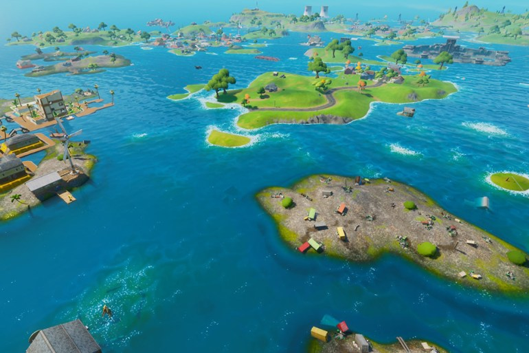 fortnite eau map saison 3 chapitre 2