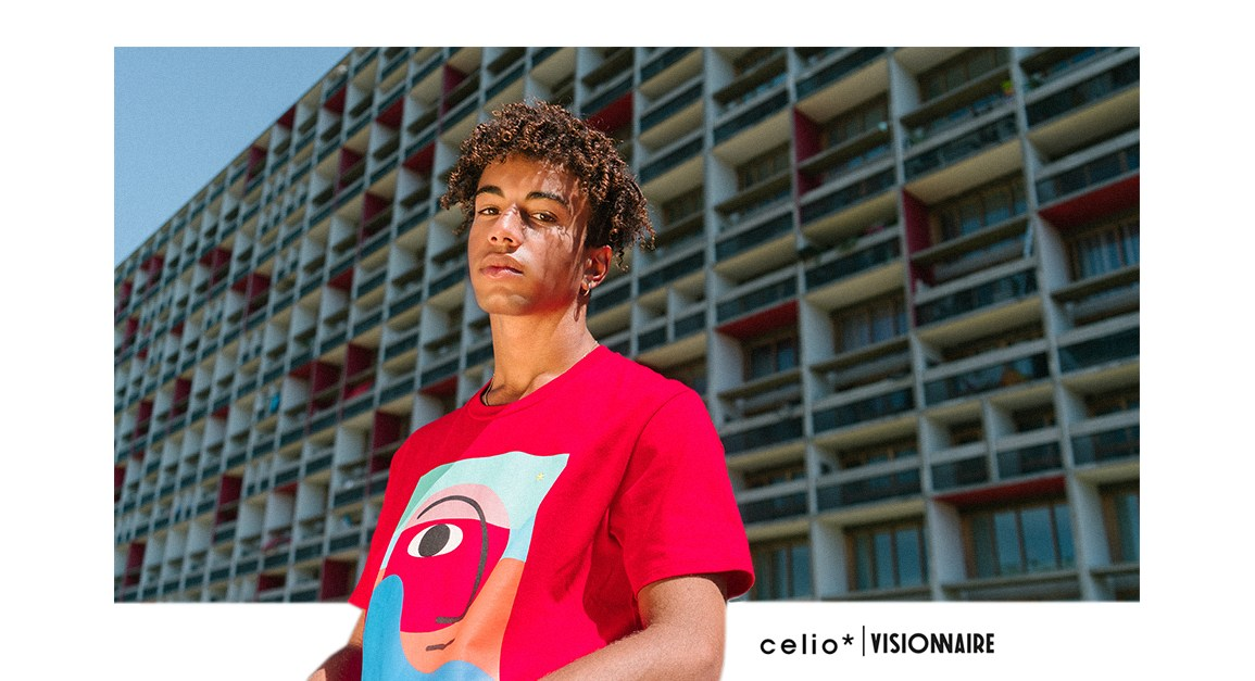 celio visionnaire collection collaboration