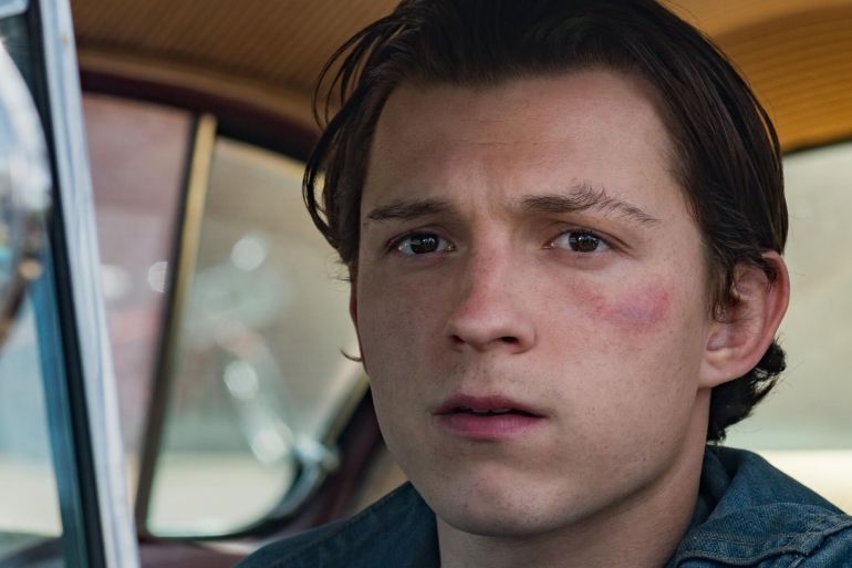 tom holland robert pattinson le diable tout le temps film netflix