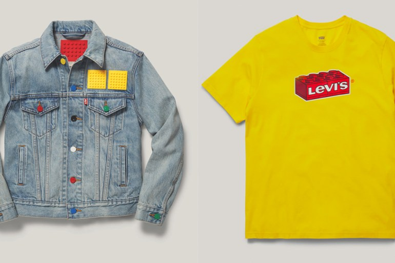 levi's lego collaboration collection