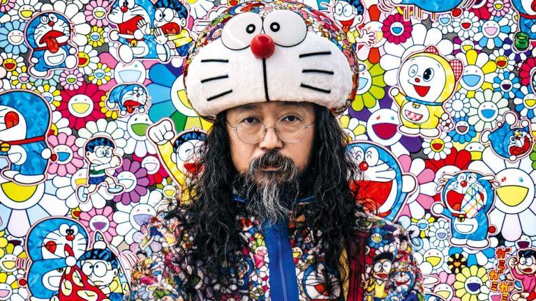 takashi murakami oeuvre chasse aux trésors paris