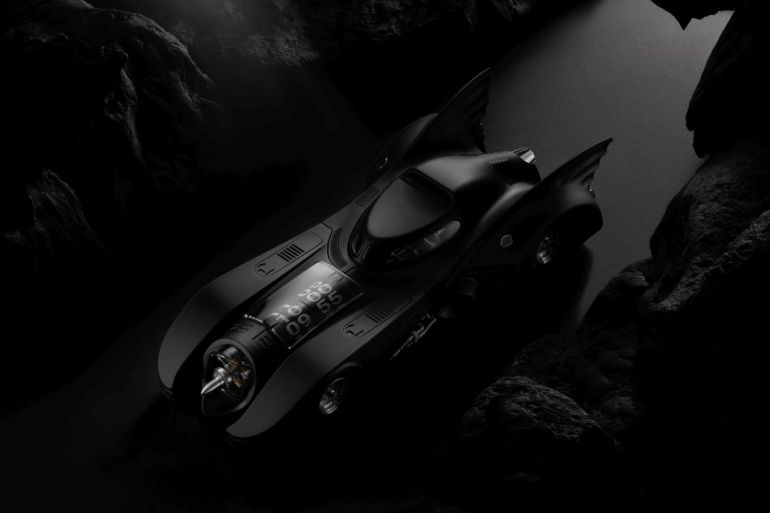 batman horloge luxe batmobile tim burton