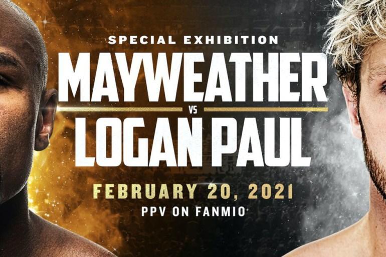 floyd mayweather logan paul combat boxe