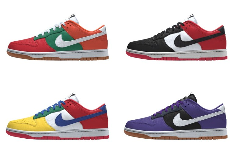 nike dunk low nike by you
