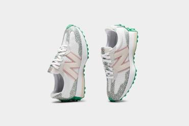 new balance casablanca collaboration sneakers 327 237