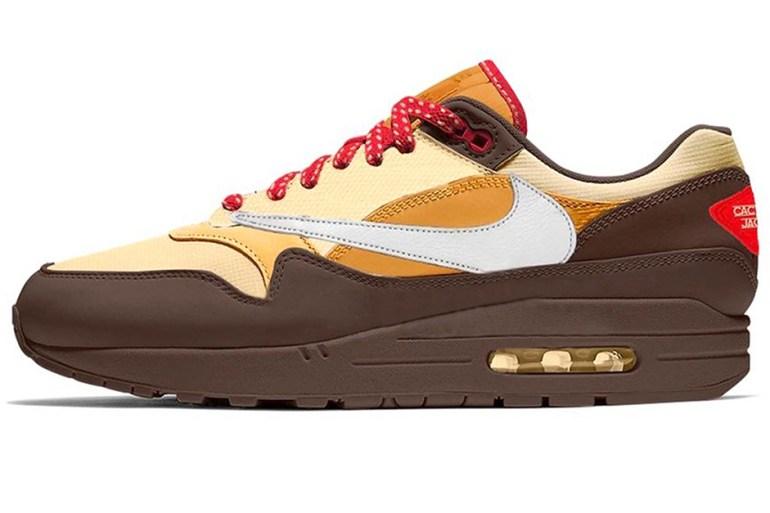 nike air max 1 sneakers travis scott collaboration