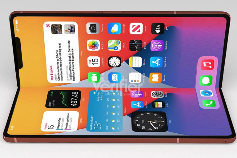 iphone pliable 2023 rumeurs sortie
