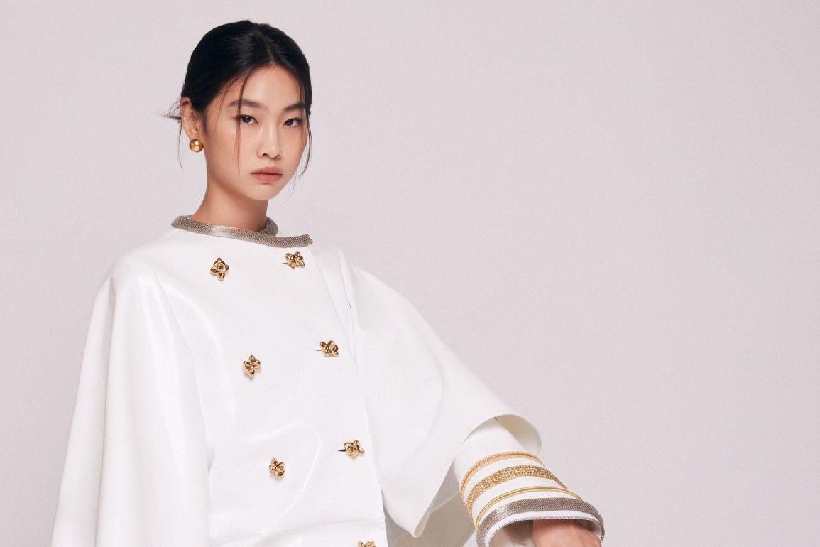 HoYeon Jung actrice squid game louis vuitton