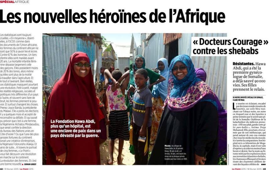 les nouvelles héroïnes de l'Afrique