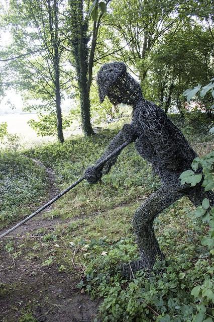 Sculpture at Cosgrove