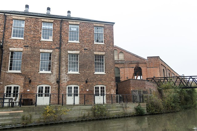 Refurbished Buildings in Wolverton, by canal