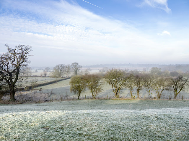 Ouse Valley in Frost