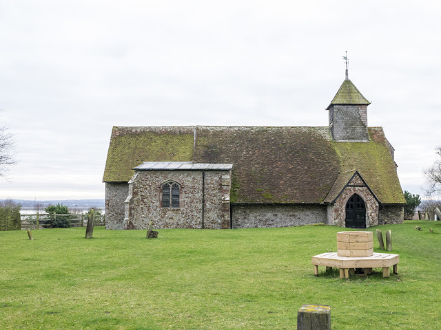old Church on Sheppey (sure it has a name)