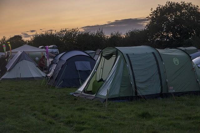 Birdfair Camping