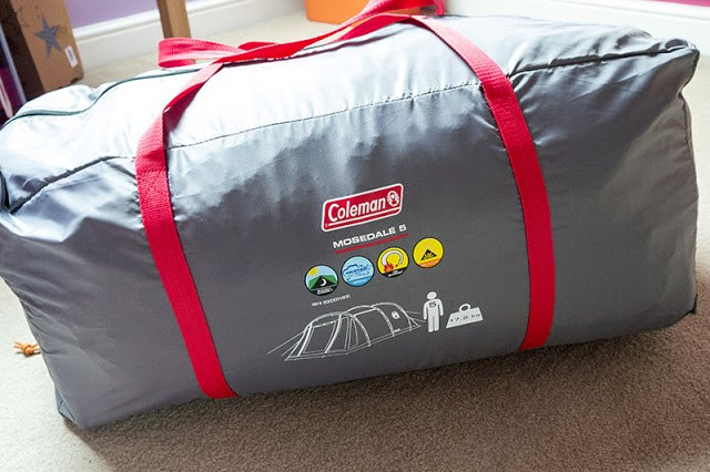 Coleman Mosedale 5 Tent in its carry bag