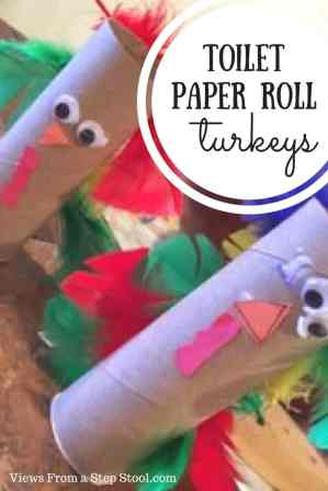 This toilet paper roll turkey only has a few simple materials, and would make the perfect table decoration for your Thanksgiving Day feast!