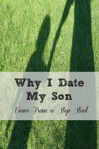 Why I choose to go on 'dates' with my son and how it helps our relationship. The time and attention spent with each other is beneficial for both of us!
