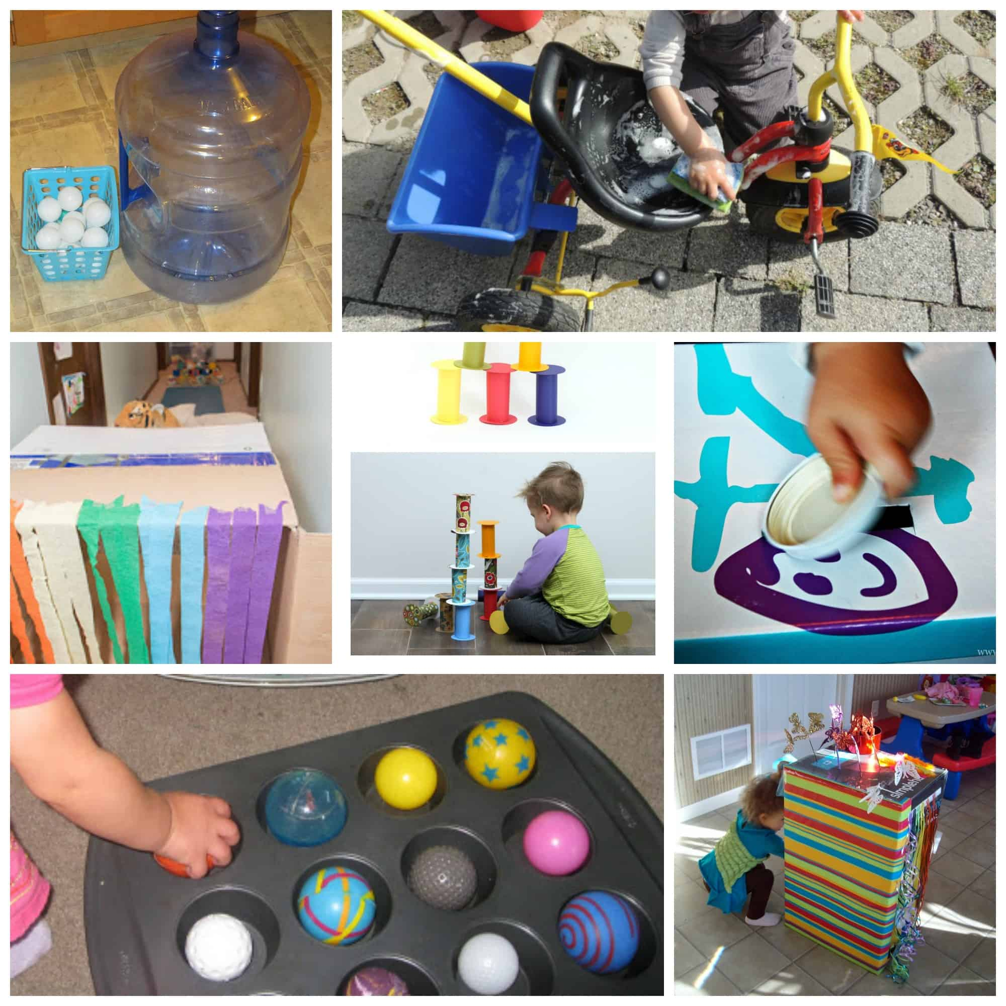 60 Activities For 1 Year Olds