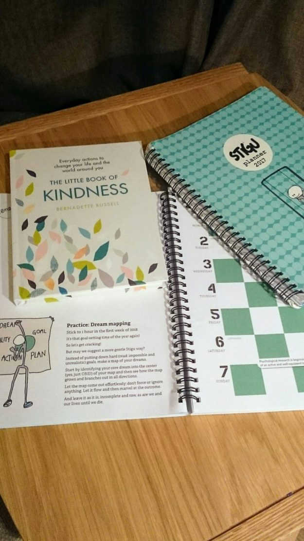Little Book of Kindness Bernadette Russell Stigu Planner