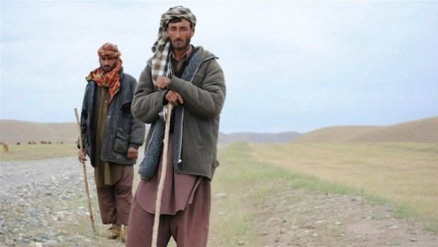 Semi-nomadic Kuchis say they are getting pushed off their rangeland with land rights still not clearly established in Afghanistan. (Photo by Bethany Matta/IRIN)
