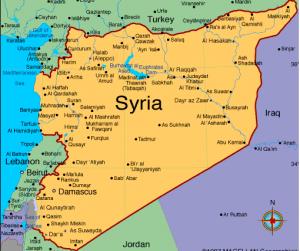 Syria map 1