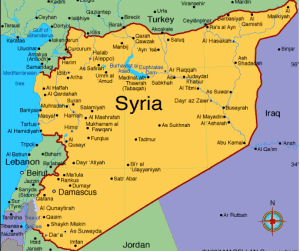 Syria map 1