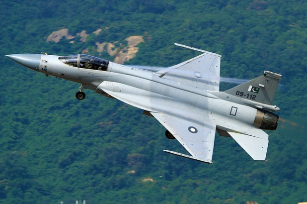 Pakistan Air Force JF-17 Thunder multi-role fighter. (Photo by RA.AZ, Creative Commons License)