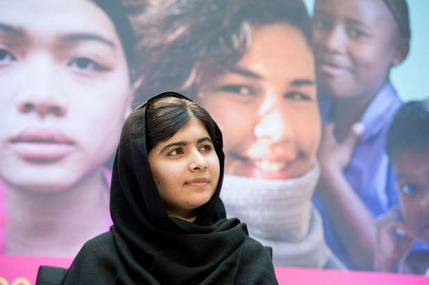 Malala Yousafzai World Bank photo