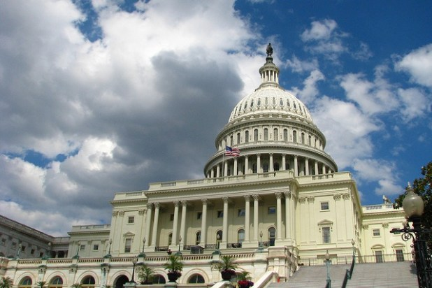 US Capitol building in Washington DC. (Photo by Tom Harris, Creative Commons License)