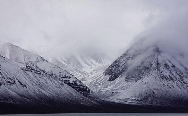 An arctic glacier. (Photo by Polar Cruise, Creative Commons License)