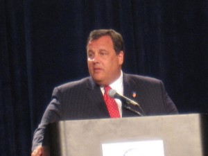 New Jersey Governor Chris Christie, who won a second term. (Photo by Iowapolitics.com, Creative Commons License)
